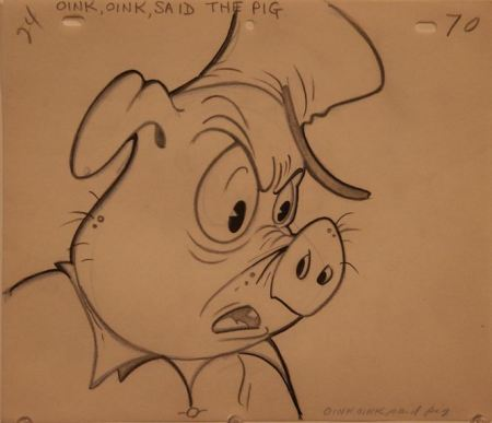 """Oink, oink,"" said the pig."
