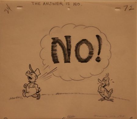 """The answer is NO!"""
