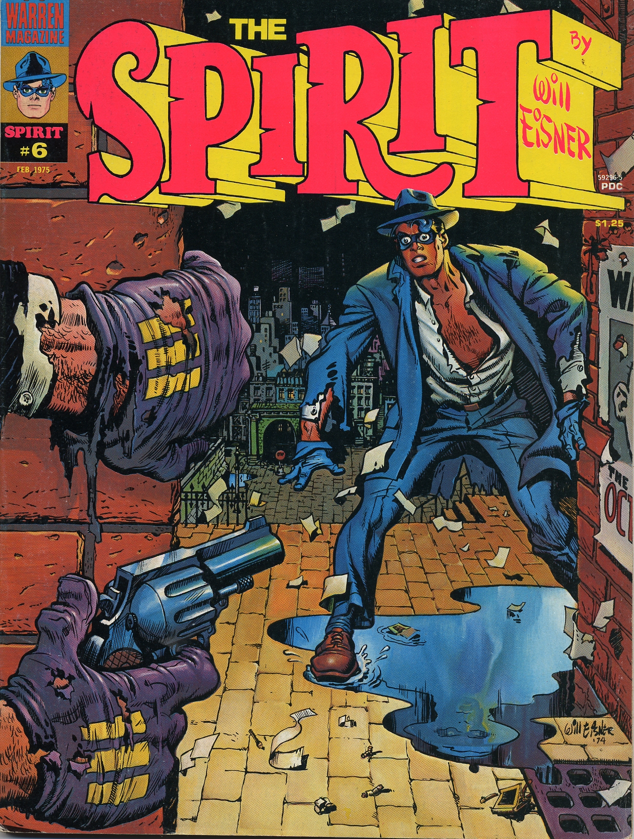 the spirit  the warren covers  u0026gt  will eisner  w  ken kelly