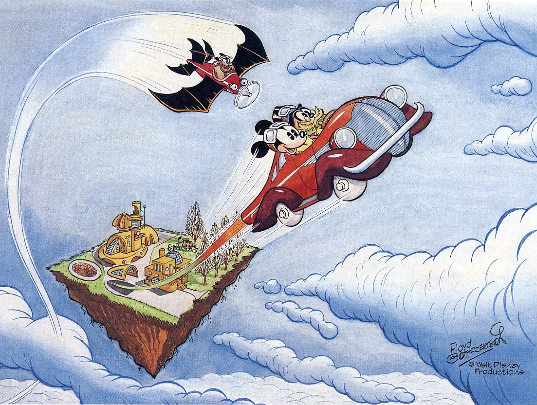 Mickey Mouse: Paintings 1978-1983 > Floyd Gottfredson