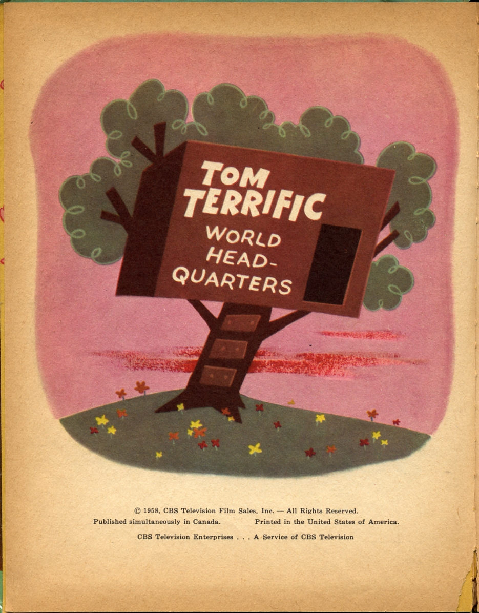 Tom Terrific: Wonder Books 1958 > Arthur Bartsch