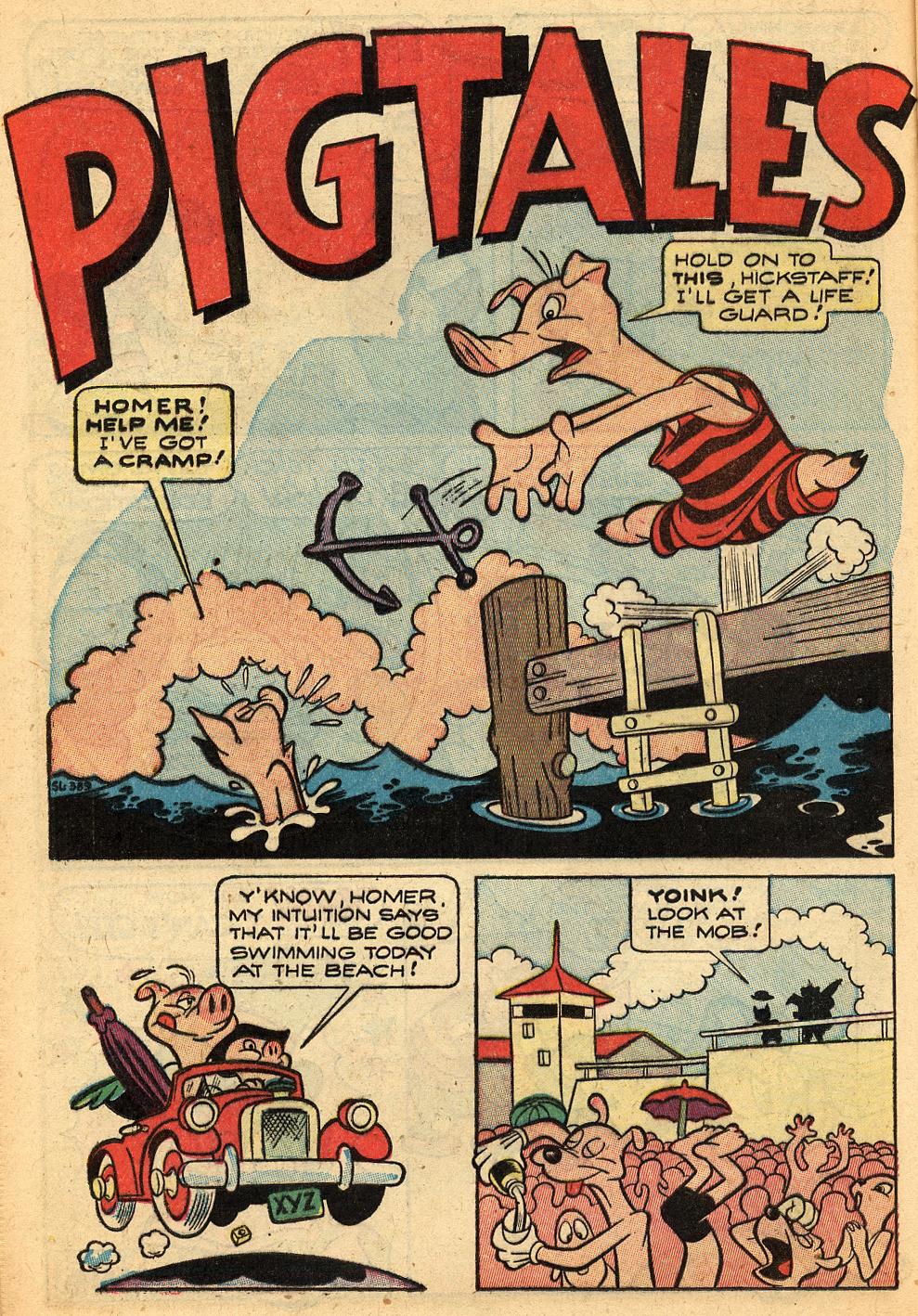 Pigtales: Comedy Comics #33 1946 > Harvey Kurtzman