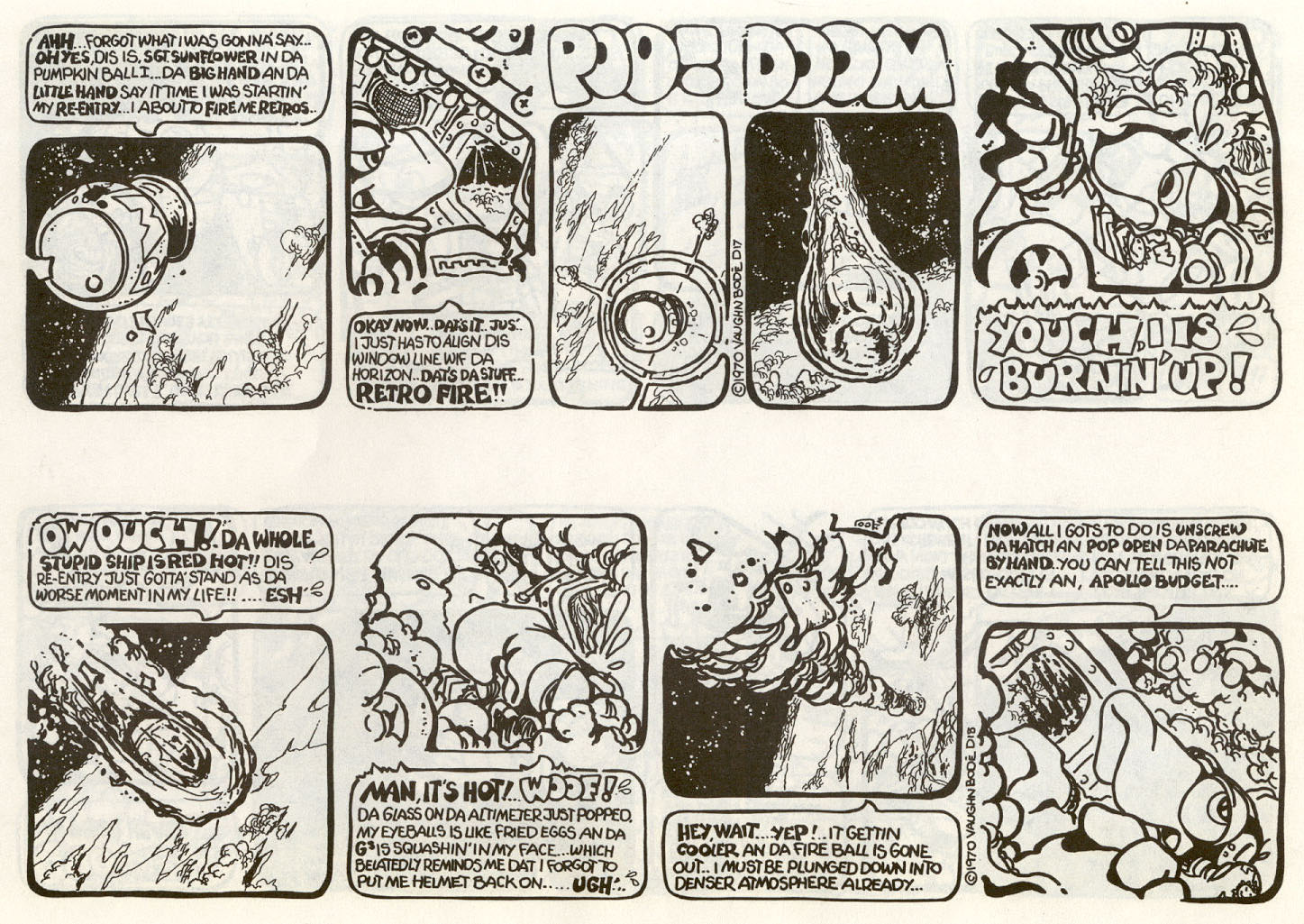 Zooks – the first lizard in orbit: junkwaffel #5 > vaughn bode